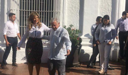 Se reúne AMLO con Claudia Pavlovich en Sonora