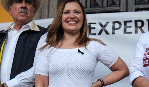 María Rojo señala haber sufrido violencia política y de género en la elección a la alcaldía de Coyoacán