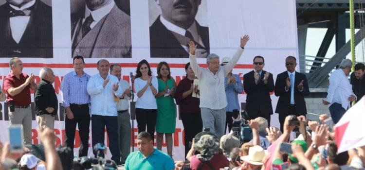 AMLO anunció plan de apoyo en Sonora, destaca relación con Trump