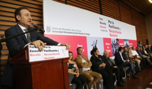 Los foros de paz no fracasaron, vamos por buen camino: Durazo
