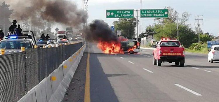 Balacera entre federales y huachicoleros deja 8 muertos en Guanajuato