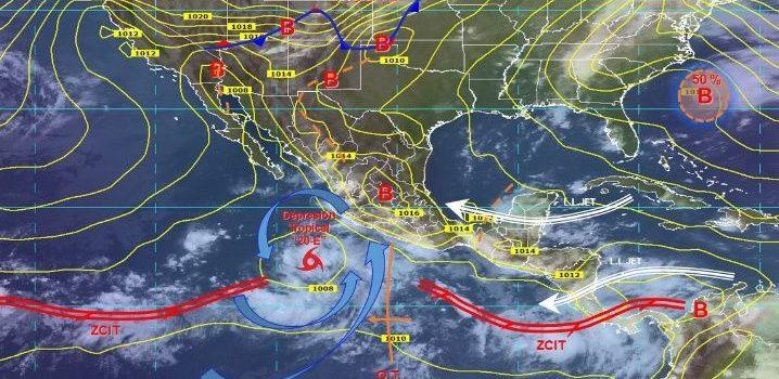 Imparables tormentas seguirán afectando México