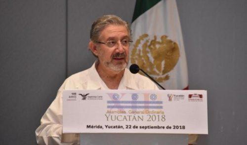 Seguridad jurídica es lo que México requiere: Luis María Aguilar