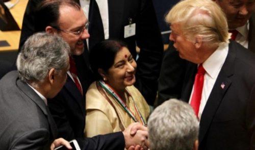 México respalda declaración de Trump contra las drogas
