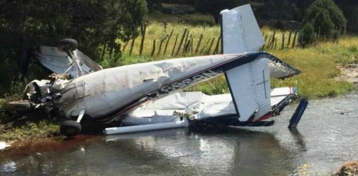 Se desploma avioneta en Yécora; mueren 3 personas