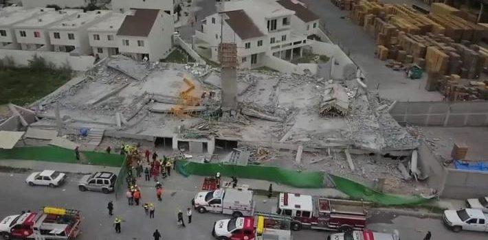 Derrumbe en Cumbres del Sol, Monterrey, sepulta a 10 y mata a 3