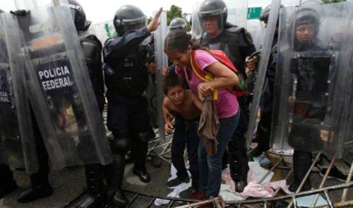 Varios heridos en cruce de migrantes hacia México por Guatemala