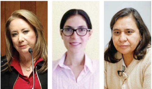 Se perfilan 3 mujeres para la Suprema Corte