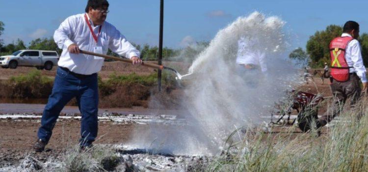 Continúa prevención de enfermedades tras lluvias en Sonora