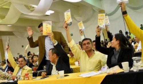 Aprueba consejo nacional del PRD resolutivo para realización de congreso nacional