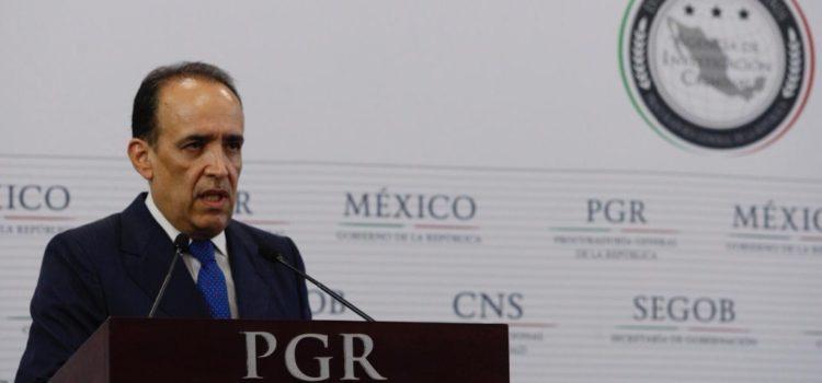 Admite PGR error en caso J. Duarte