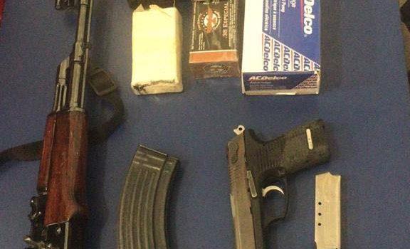 Asegura PESP a cuatro personas con armas de fuego en Cajeme