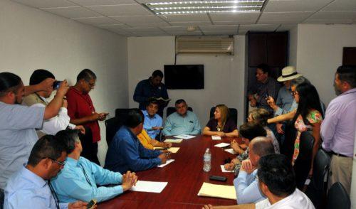Diputados de MORENA reciben a STAUS, SUTUES, SUEISSSTESON, SUTSMH, SUTTITSON, que demandan atención y servicios por parte de ISSSTESON