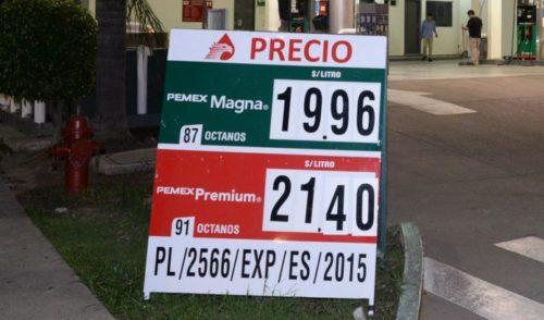 A partir de este sábado aumentará precio de gasolina y diésel