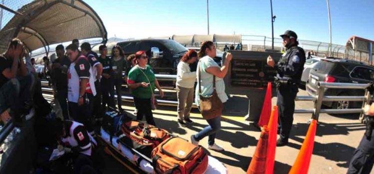 Agentes de EU cierran cruce internacional en Chihuahua; luego de momentos de tensión lo reabren