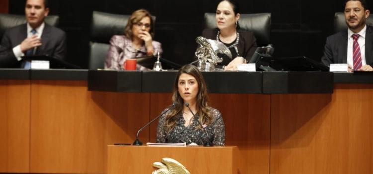 Sylvana Beltrones pide hacer delito la violencia política de género.