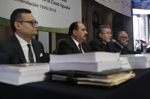 Fue posible evitar la desaparición de los normalistas, afirma CNDH