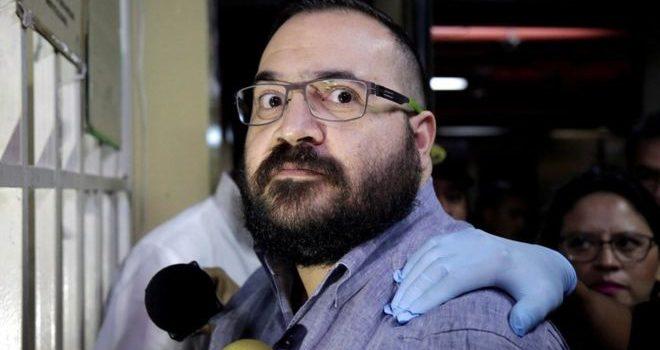 Javier Duarte quiere menos años; busca amparo a sentencia
