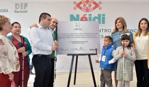 """Abre Sonora """"Néidi"""", primer Centro de Atención a Ciegos y Débiles Visuales"""