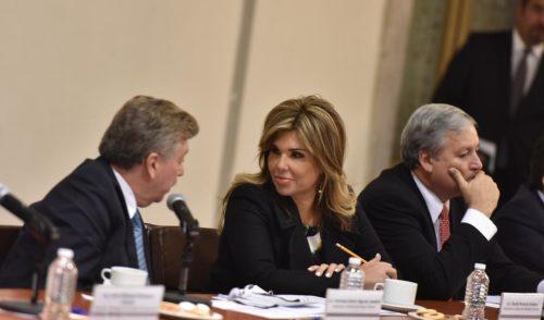 Reitera Gobernadora solicitud de apoyo al Gobierno Federal para atender a caravana migrante