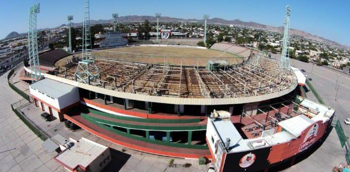 Proyectan venta de estadios Héctor Espino y Tomás Oroz Gaytán