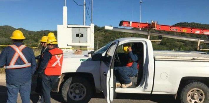 Muere ladrón electrocutado al intentar robar cableado en Hermosillo