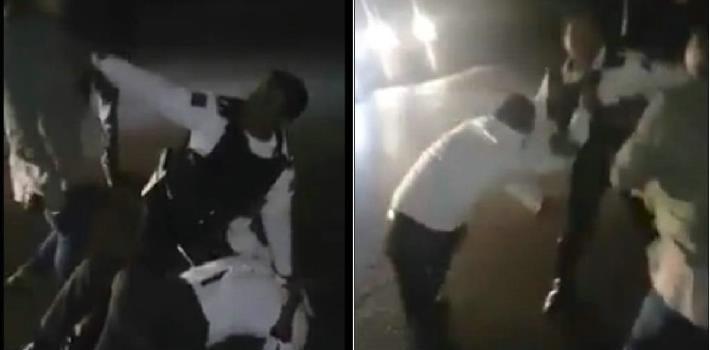 Mujer desarma a policía por detener a su novio en Cuernavaca