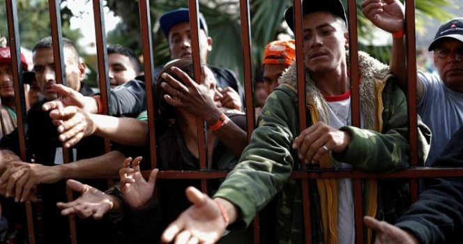 Acusa Trump a migrantes de causar 'grandes problemas' en México
