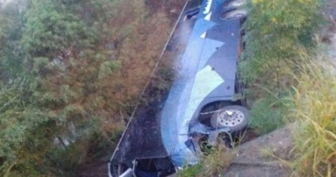 Trágico accidente de autobús deja 7 muertos y 20 heridos en Nuevo León