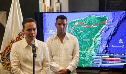 Velasco pide votar a favor del Tren Maya