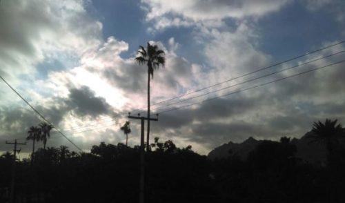 Cielos nublados y temperaturas templadas se espera hoy para Sonora