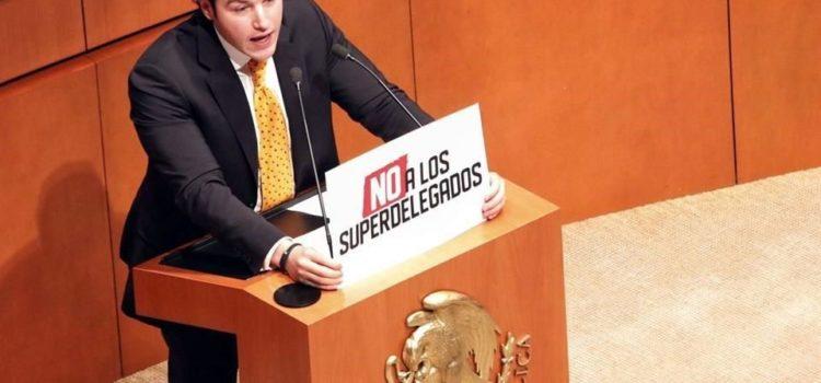 Anuncian recursos contra superdelegados