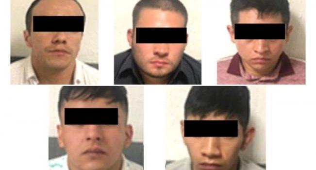 A proceso, los 5 detenidos por balacera en Texcoco