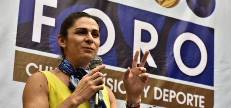 Se pronuncia Ana Guevara a favor de la marihuana