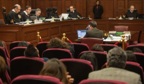 Corte inicia análisis de Ley de Seguridad Interior