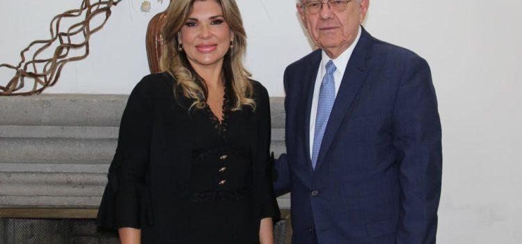 """Gestiona Gobernadora ante próximo Gobierno federal conclusión de la obra """"Cuatro Carriles"""""""