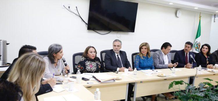 Reafirman Diputados Federales compromiso con los sonorenses en reunión con gobernadora Pavlovich