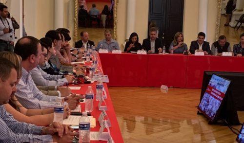 Se reúnen gobernadora y alcaldes por el presupuesto 2019