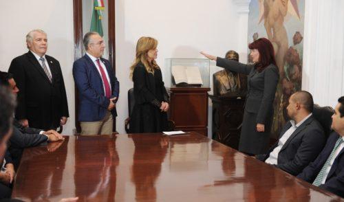 Toma protesta Gobernadora Pavlovich a nueva Fiscal General de Justicia