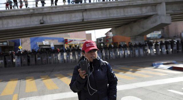 Ejercicios preventivos en Nogales, ante llegada de migrantes