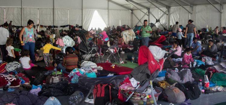 Migrantes que están en la CDMX rechazan quedarse en México