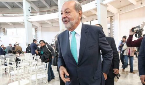 Carlos Slim confía que en gobierno de AMLO habrá certidumbre para empresarios