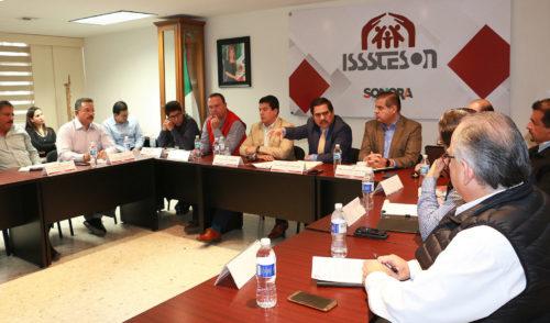 Instala Isssteson Comité de Vigilancia y Fiscalización