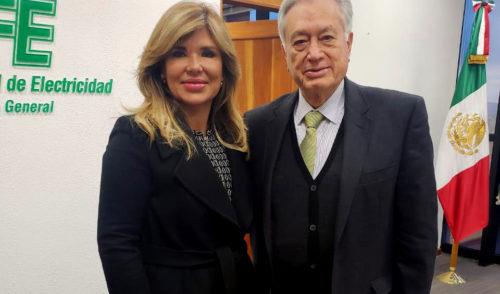 Gestiona Gobernadora Pavlovich subsidio de luz ante nuevo titular de CFE