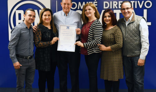 Es Ernesto Munro Palacio oficialmente el nuevo presidente del PAN en Sonora