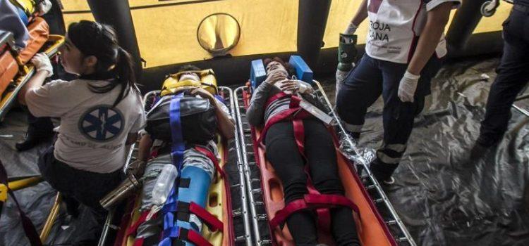 Accidente de autobús en León deja ocho personas muertas