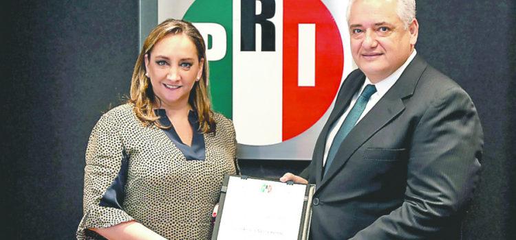 Remplazo en finanzas del PRI, anuncia Ruiz Massieu