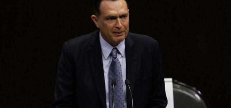 Mauricio Kuri, coordinador temporal del PAN en Senado