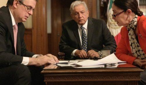 Conversan AMLO y Trump sobre tema migratorio