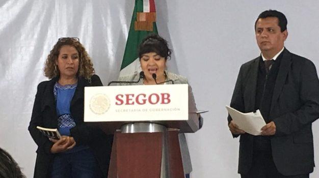Nestora Salgado entrega lista de presos políticos a Segob; hay 199 casos identificados